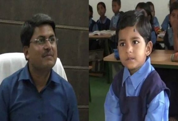 balrampur collector made his daughters admission in government school