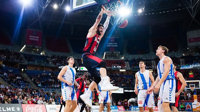 fuente: ACB Tornike Shengelia mvp de la quinta jornada
