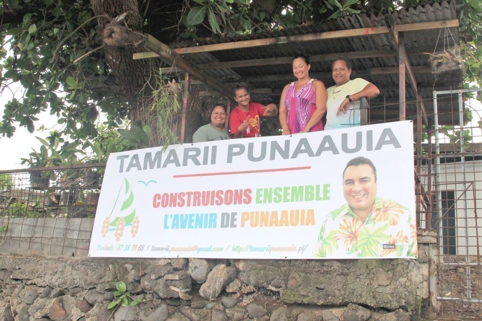 Teva Rohfritsch Installe Sa Permanence De Campagne A Punaauia La Depeche De Tahiti