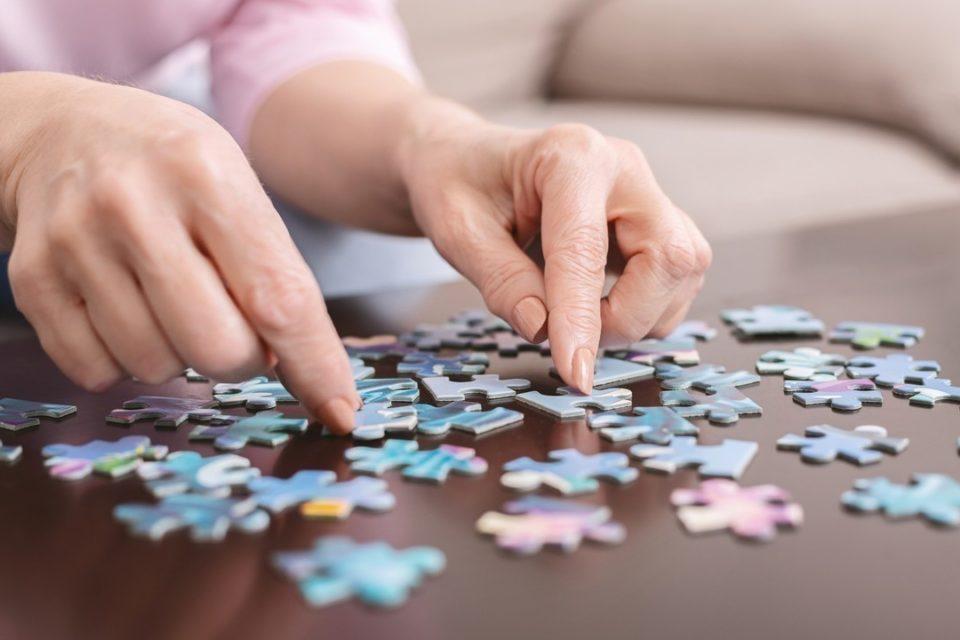 Le puzzle reste un jeu très apprécié.
