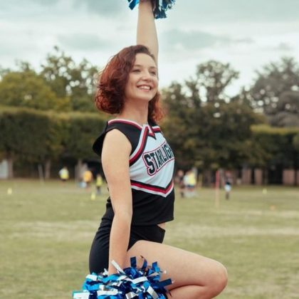 Yvelines.  Les Mureaux: the American football club opens a cheerleading section