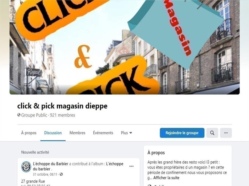 dieppe soutiennent le commerce local