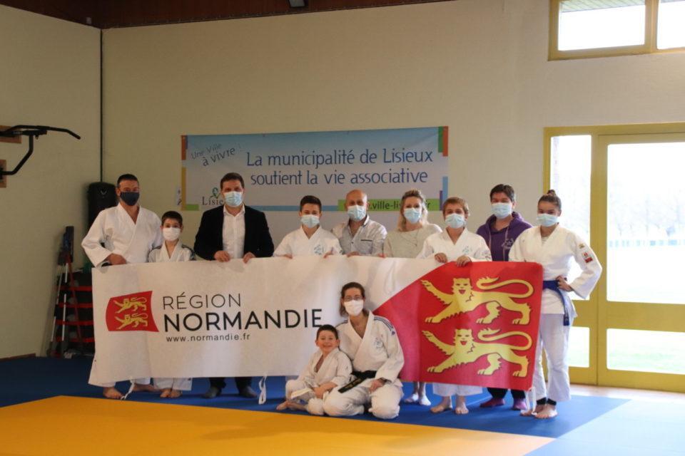 sol pour le club de judo de lisieux