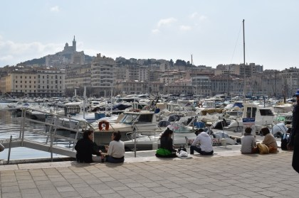 Marseilles.  Live performance, dizzying meals and Japanese arts: our number of outings this week