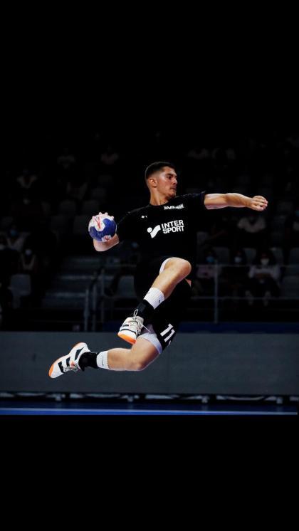Mathias Créteau, from the Handball-Membership du Neubourg to the ProLigue
