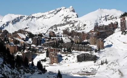 "Haute Savoie.  The ""inexperienced flake"" label awarded to the Morzine and Avoriaz ski resorts"