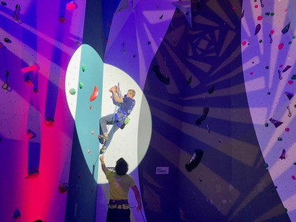 3000m², 14 meters high … Lille's largest climbing hall is open!