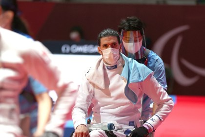 Paralympic Video games: Yohan Peter, Val d'Europe fencer, doesn't clarify his defeat