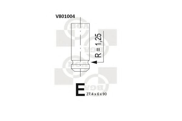 V801004 BGA Выпускной клапан — купить в AutoOstrov.by с