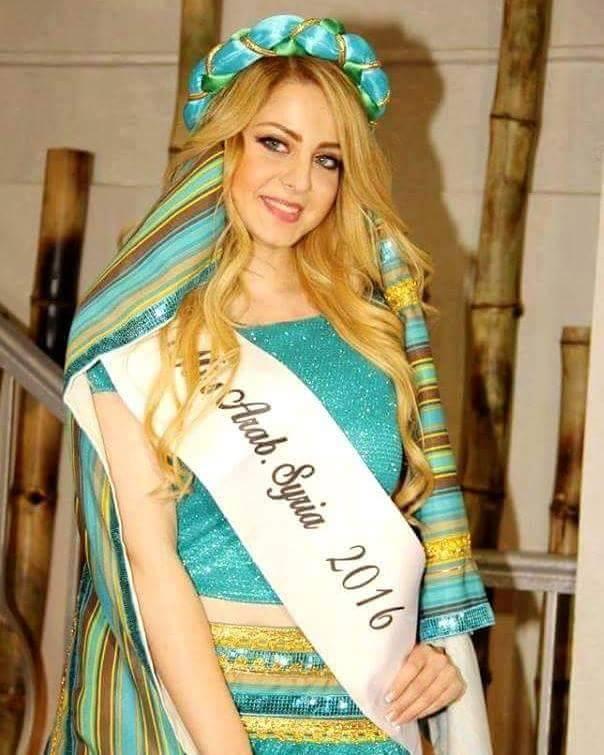 نيلاي نوفل ملكة جمال سوريا 2016