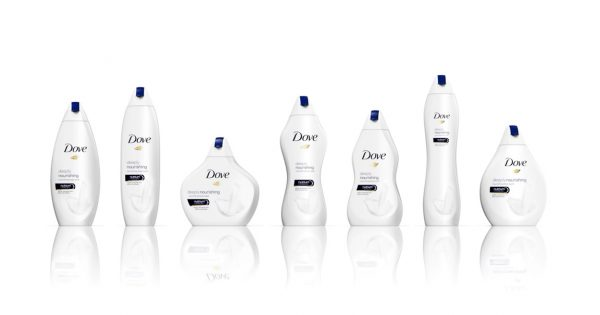 Dove's 'Real Beauty Bottles' Come in All Shapes and Sizes