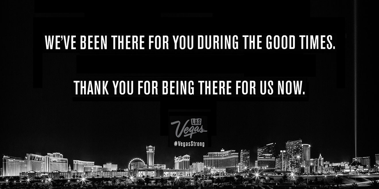 How Las Vegas Is Helping The City Heal With Two Perfect Lines Of Copy Adweek