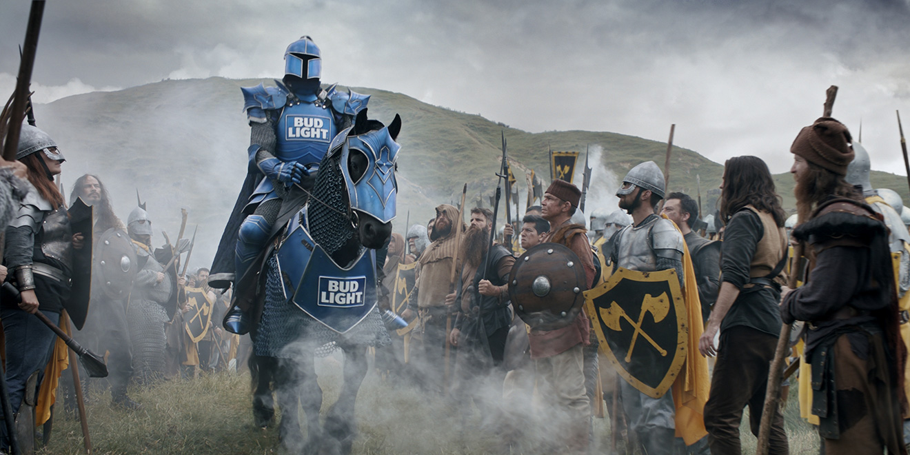 Bud Light Marches Into the Super Bowl With Its Biggest