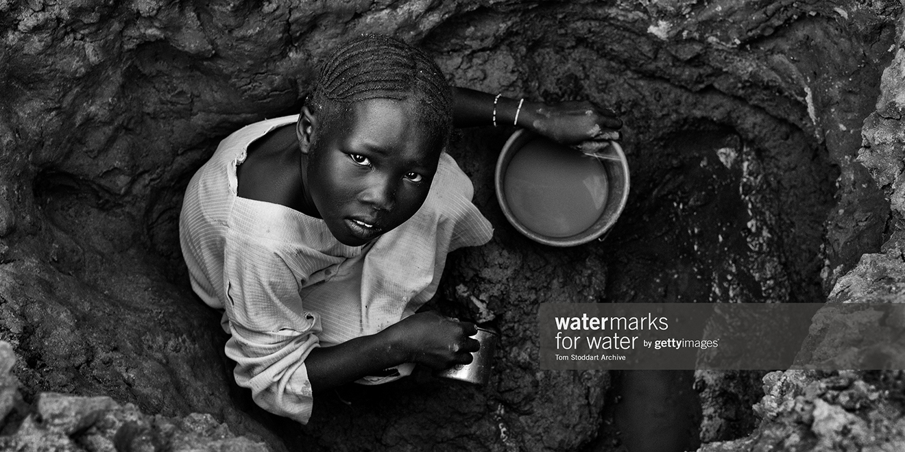 Getty Images Aims to Help People in Need of Clean Water With Watermarks Initiative  Adweek