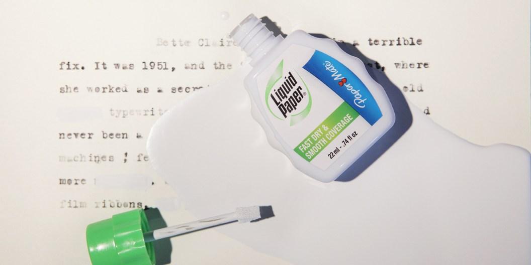 Resultado de imagen para liquid paper