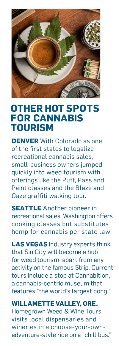 infographic of cannabis laws in different states