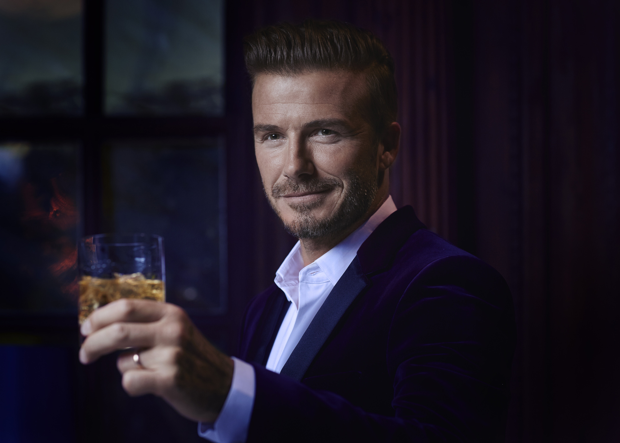 Image result for David Beckham drink
