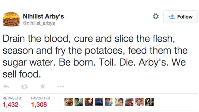the nihilist arby s