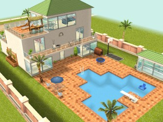 sims freeplay dream mobile houses homes update play game build mansion three built receives blueprints gets adweek dev april layouts
