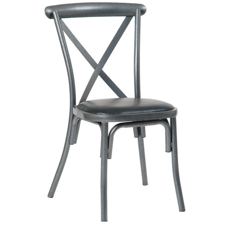 x back chairs outside tables and for restaurants stackable metal chair in silver vein with black vinyl seat asf erat 242 sv vnlbl jpg