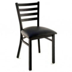 Metal Restaurant Chairs Pbteen Desk Chair Restaurants Commercial Grade At Competitive Prices Ladder Back