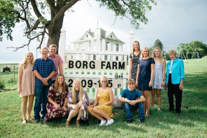 Borg family in Nebraska