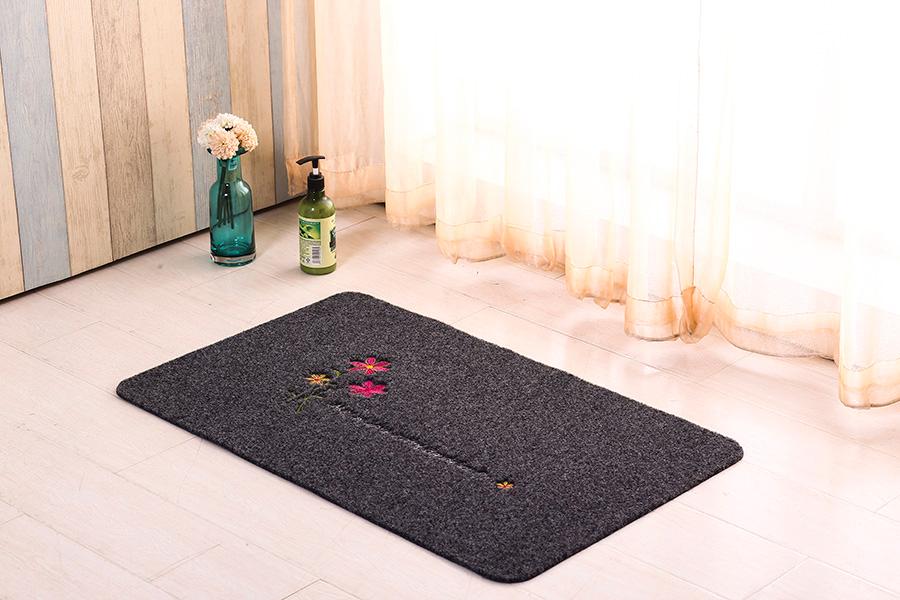 grey kitchen rugs cabinets at home depot 凤凰知音 宜恋家纺浴室防滑垫厨房门垫地垫进门入户脚垫