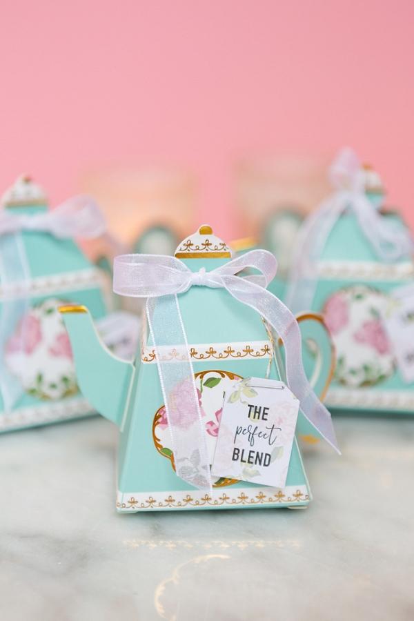 DIY Tea Bag Favors  Aisle Society