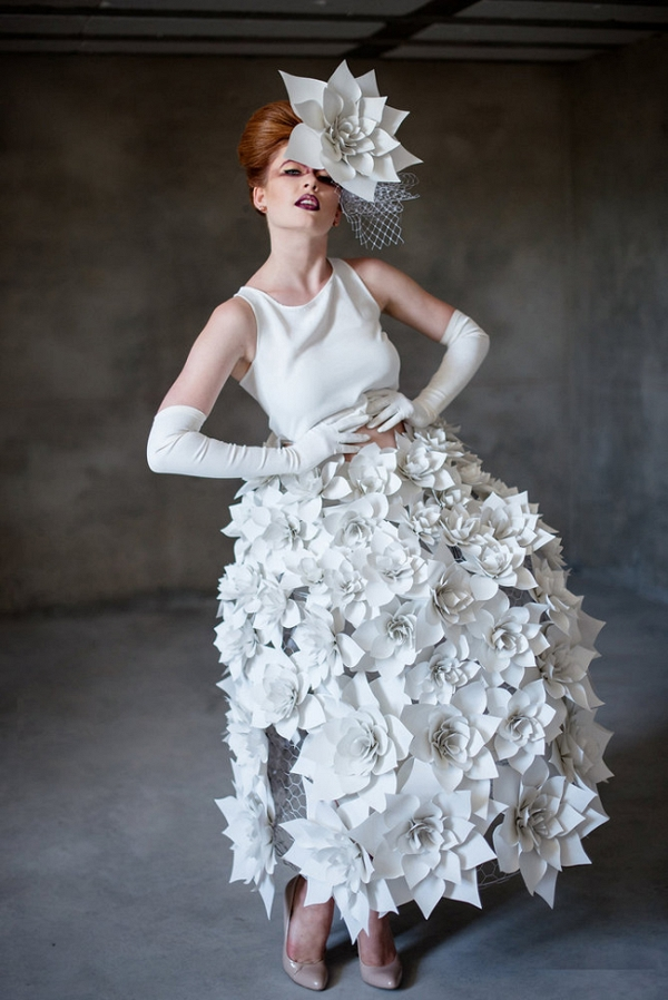 Paper Couture Wedding Inspiration  Aisle Society