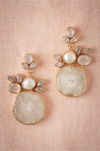 Druzy Drop Earrings - Aisle Society