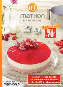 mathon catalogue code reduction et