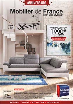 mobilier de france catalogue code
