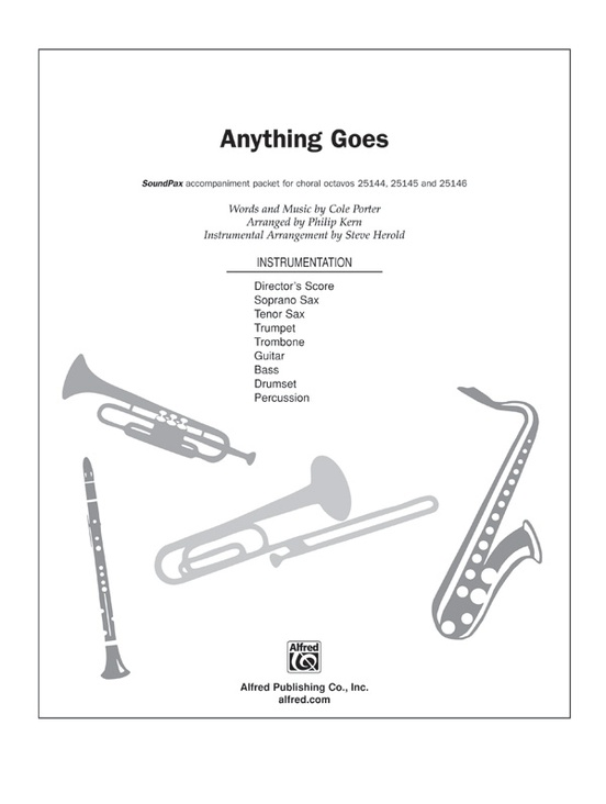 Anything Goes (from the musical Anything Goes): Choral