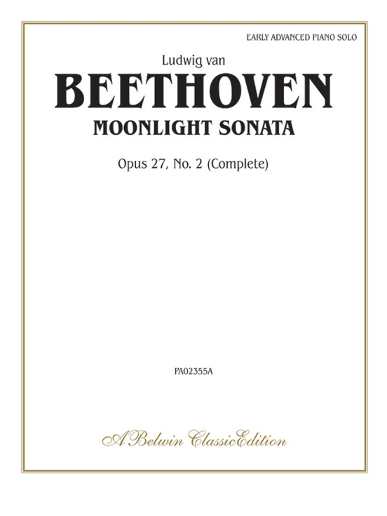 Image result for beethoven moonlight sonata