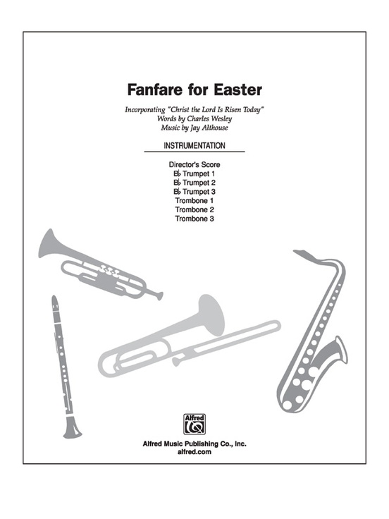 Fanfare for Easter: Choral Octavo InstruPax: Jay Althouse