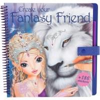 Album de coloriage Top Model : Create your Fantisy Friends ...