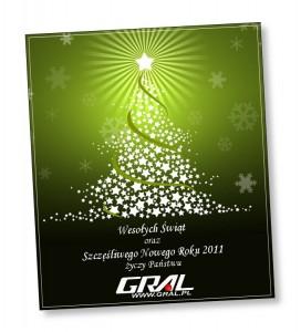 Gral - życzenia świąteczne