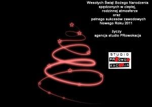 Studio Prowokacja - życzenia świąteczne