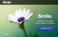 Flickr: smile!