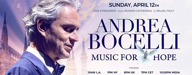 Andrea Bocelli: Music for Hope