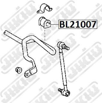 Toyota 48815-12340 (4881512340) Втулка FR стабилизатора