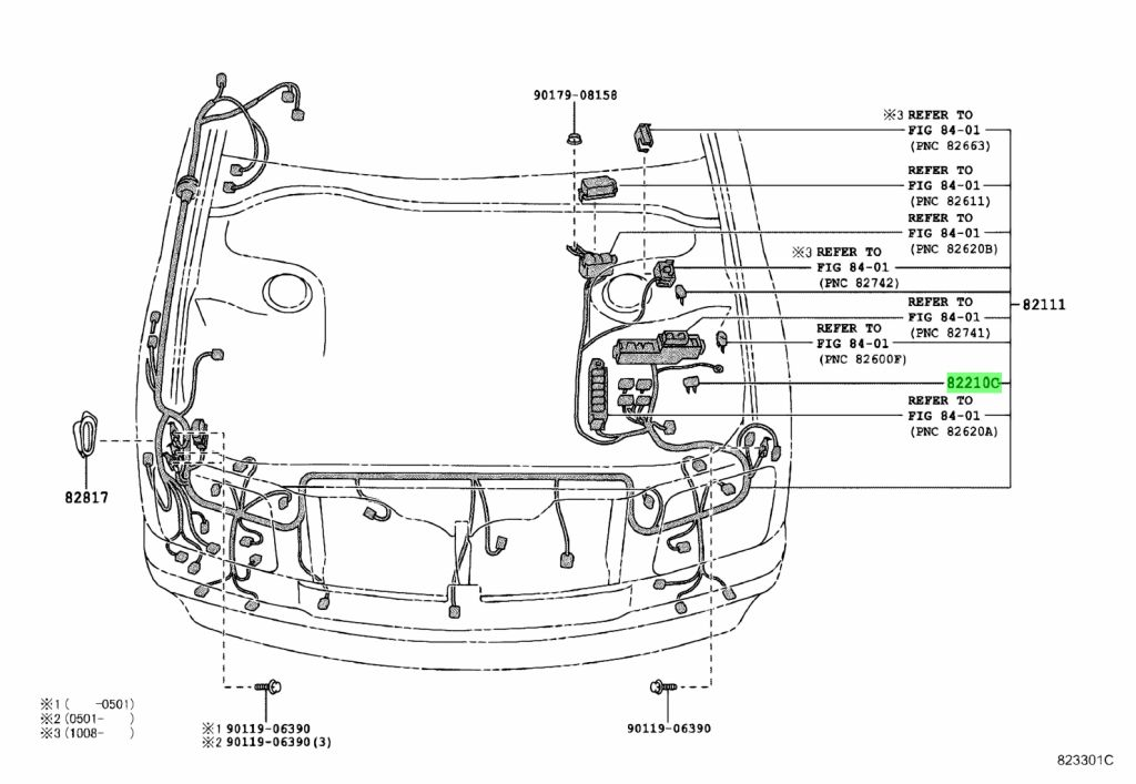 Genuine Toyota 90982-08281 (9098208281) FUSE, FUSE BLOCK