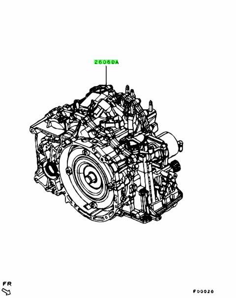 Mitsubishi 2700A168 TORQUE CONVERTER & AUTOMATIC TRANSAXLE