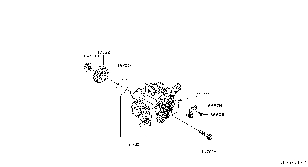 Buy genuine engine and fuel system for Nissan Qashqai 1