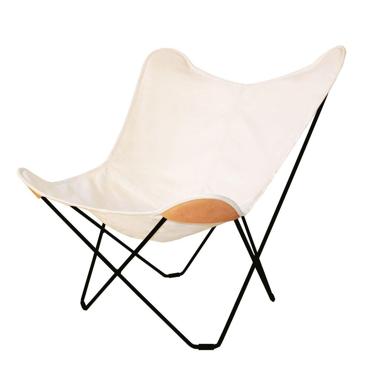 White Butterfly Chair Canvas Mariposa Butterfly Chair Outdoor Cuero