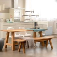 Museo Solid Wood Dining Table / Kitchen Table | ADWOOD ...