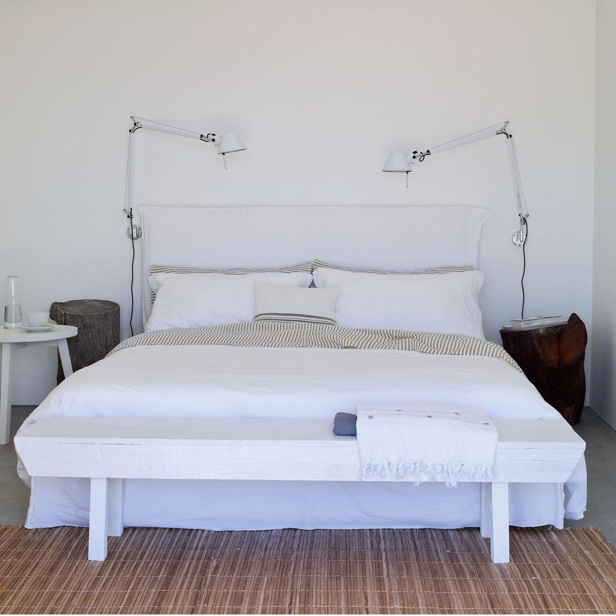 tete a chair outdoor toddler wooden rocking ghost 80.g. double bed | gervasoni ambientedirect.com