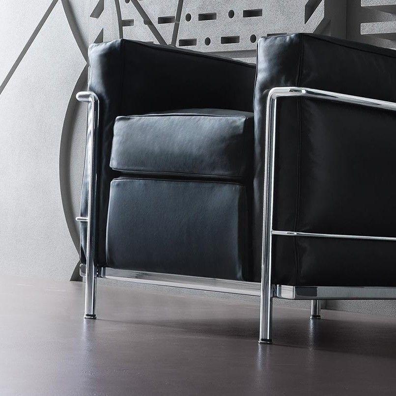Le Corbusier LC2 Armchair  Cassina  AmbienteDirectcom