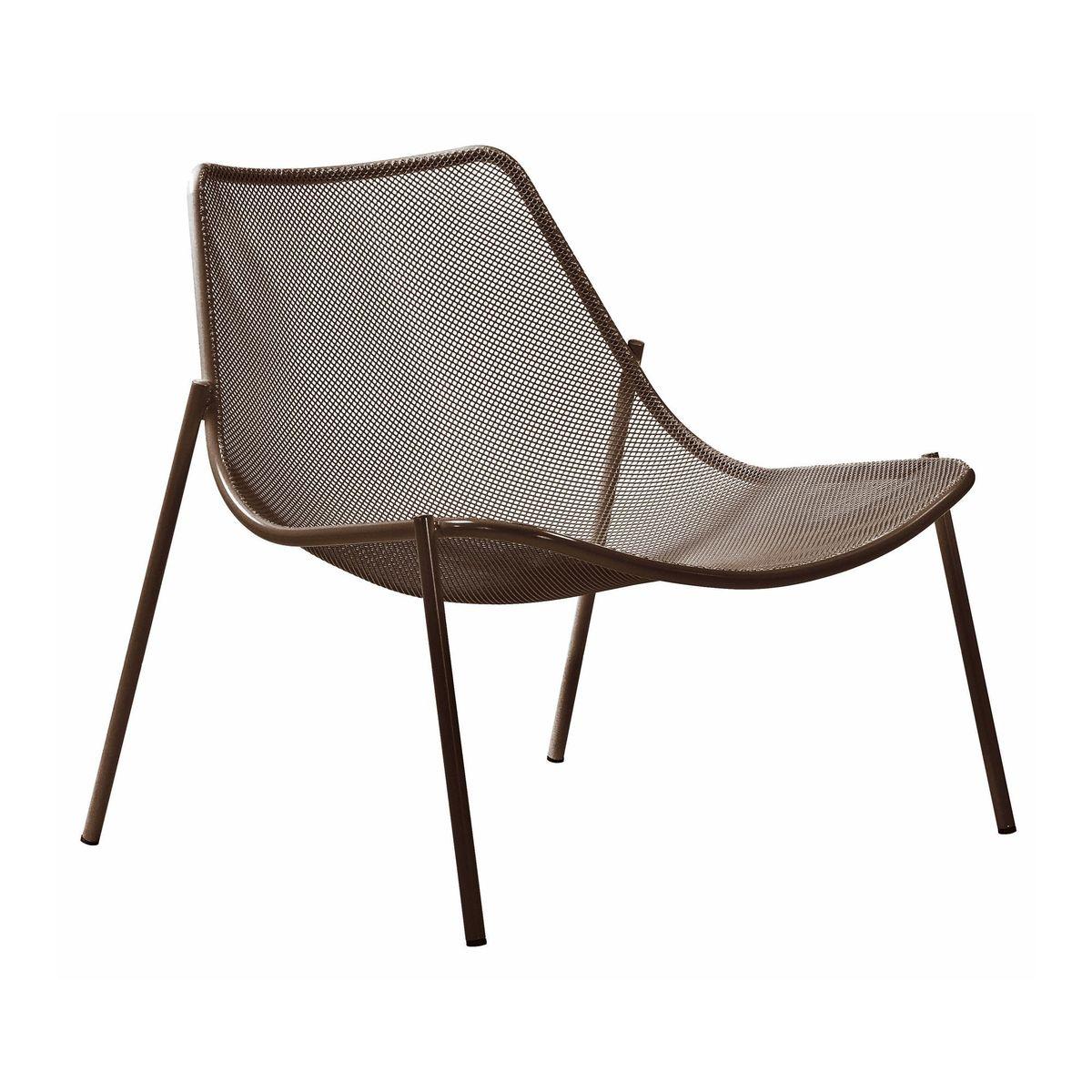 circular lounge chair high back modern round emu ambientedirect