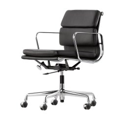 Vitra Office Chair Black Covers Ea 217 Soft Pad Eames Alu